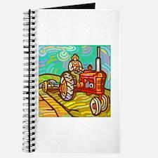 Van Gogh Tractor Journal