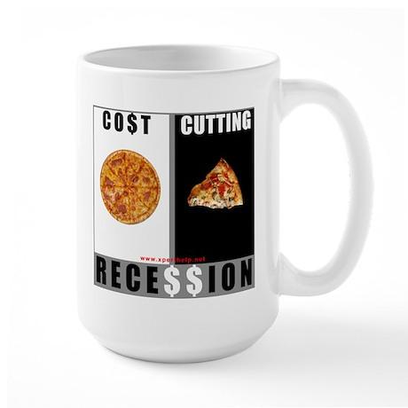 Recession Large Mug