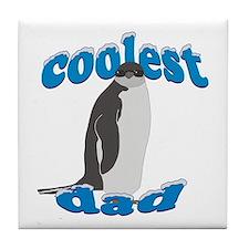Coolest Dad Tile Coaster