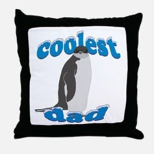 Coolest Dad Throw Pillow