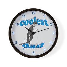 Coolest Dad Wall Clock