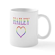 Hailey - Rainbow Heart Mug
