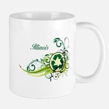 Illinois Recycle T-Shirts and Gifts Mug