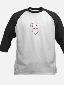 Chloe - Rainbow Heart Tee