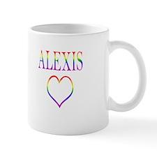 Alexis - Rainbow Heart Mug