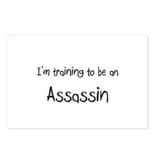 I'm Training To Be An Assassin Postcards (Package