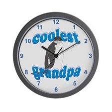 Coolest Grandpa Wall Clock