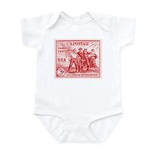 Cute Franklin d roosevelt Infant Bodysuit