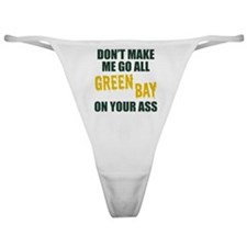 Green Bay Football Classic Thong