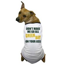 Green Bay Football Dog T-Shirt