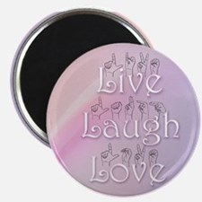 Live, Laugh, and Love Magnet