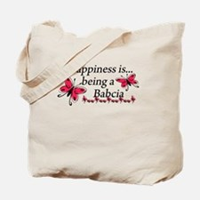 Butterfly Being A Babcia Tote Bag