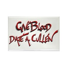 Give Blood - Date a Cullen Rectangle Magnet