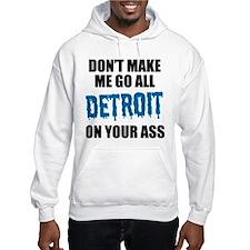 Detroit Football Hoodie Sweatshirt