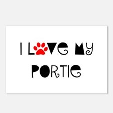 I Love my Portie Postcards (Package of 8)