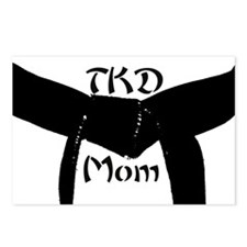 Martial Arts TKD Mom Postcards (Package of 8)
