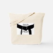 Martial Arts TKD Mom Tote Bag