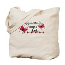 Butterfly Being A Lola Tote Bag