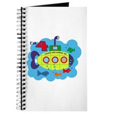 Submarine 4th Birthday Journal