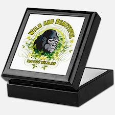 Wild Gorilla Keepsake Box