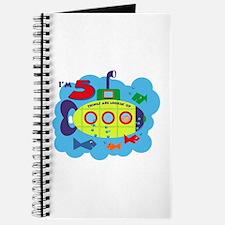 Submarine 5th Birthday Journal