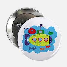 """Submarine 6th Birthday 2.25"""" Button"""