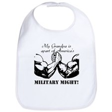 Mighty Grandpa Bib