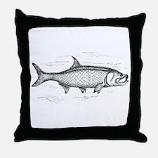 Tarpon Throw Pillow