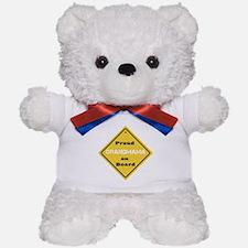 Proud Grandmama on Board Teddy Bear