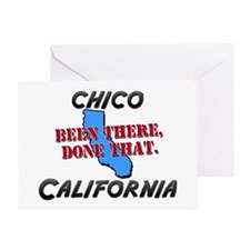 chico california - been there, done that Greeting