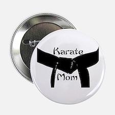 "Martial Arts Karate Mom 2.25"" Button"