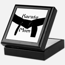 Martial Arts Karate Mom Keepsake Box