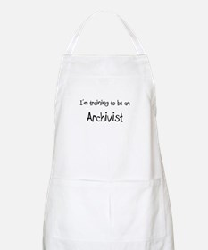 I'm Training To Be An Archivist BBQ Apron