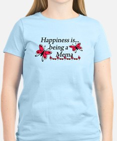 Butterfly Being A Mema T-Shirt