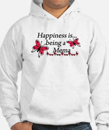 Butterfly Being A Mema Hoodie