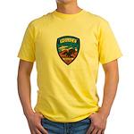 Huachuca City Police Yellow T-Shirt