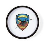 Huachuca City Police Wall Clock