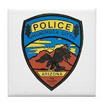 Huachuca City Police Tile Coaster