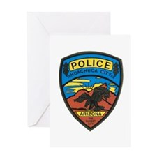 Huachuca City Police Greeting Card