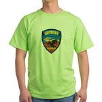 Huachuca City Police Green T-Shirt