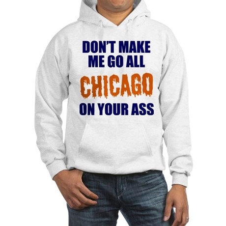 Chicago Football Hooded Sweatshirt