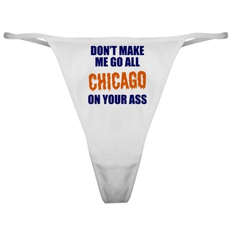 Chicago Football Classic Thong