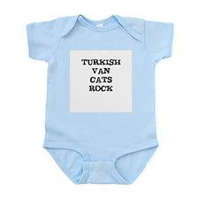TURKISH VAN  CATS ROCK Infant Creeper