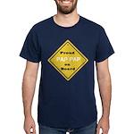 Proud PapPap on Board Dark T-Shirt
