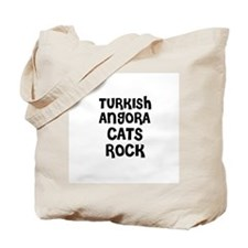 TURKISH ANGORA CATS ROCK Tote Bag