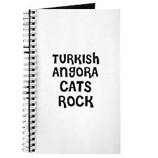 TURKISH ANGORA CATS ROCK Journal