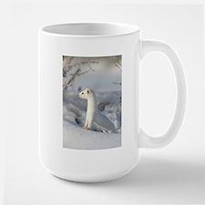 Winters Coat Large Mug