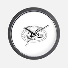 Advice from a Canada goose Wall Clock