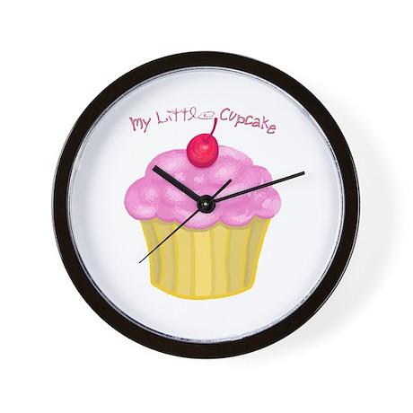 My Little Cupcake Wall Clock