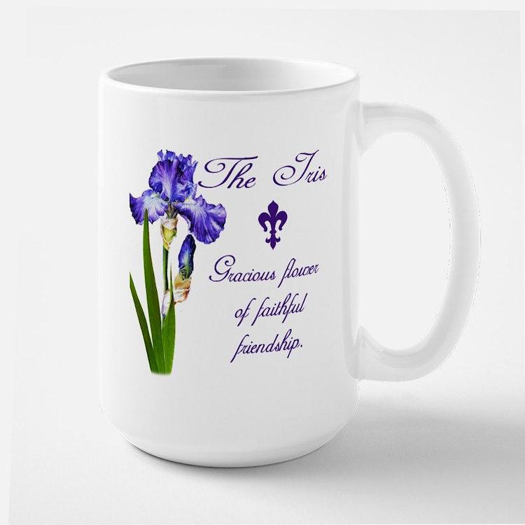 Purple Iris Mug